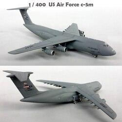 Fine 1/400 sa089 USAF c-5m транспортная модель из 60021 сплава Коллекционная модель