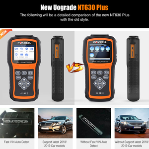Image 4 - Foxwell NT630 Plus OBD2 Car Diagnostic Tool ABS Bleeding Airbag Reset SAS Calibration Code Reader ODB2 OBD2 Automotive Scanner