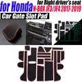 19 ชิ้น/เซ็ตรถประตูภายใน Groove MAT Gate SLOT Pad สติกเกอร์กันลื่น MAT-Anti-สกปรก MAT สำหรับ Honda N-BOX JF3/JF4 2017-2019