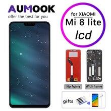 ЖК дисплей 6,26 дюйма для Xiaomi Mi 8 lite, сенсорный экран с рамкой, дигитайзер в сборе, сменный экран для Mi 8 Youth LCD