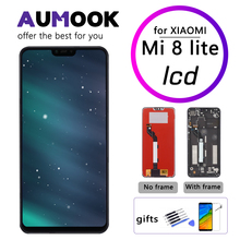 6.26 inch LCD for Xiaomi Mi 8 lite Display Touch Screen With Frame Digitizer Assembly Screen Replacement for Mi 8 Youth LCD