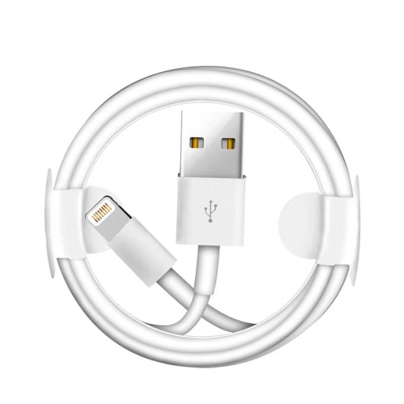 1 м 2 м 3 м USB кабель для зарядки для iPhone 7 8 Plus X XS Max XR Быстрая зарядка USB кабель для передачи данных для iPhone 5S кабель SE 6 6S провод зарядного устройс...