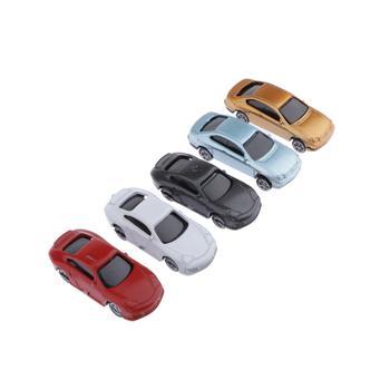 30 sztuk malowany Model samochodów HO skala pociąg ulica droga krajobraz krajobraz 1100