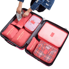 BELLELIFE 7 Pcs/Set Travel Organizer Storage Bags Luggage Organizer Trip Bag Shoes Pouch Travel Storage Bag Suitcase Packing