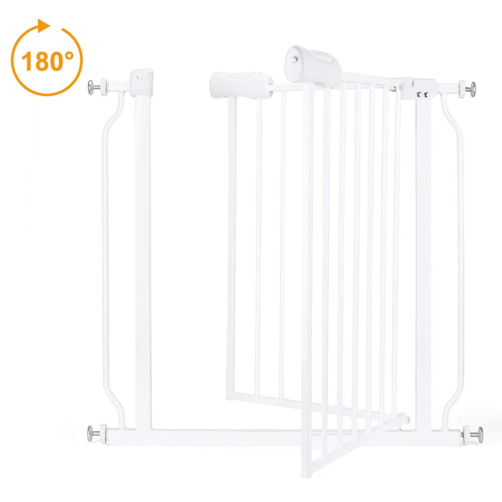 Baby gate for Child Protection and Isolation from Unsafe Places like Stairs and Kitchen 5