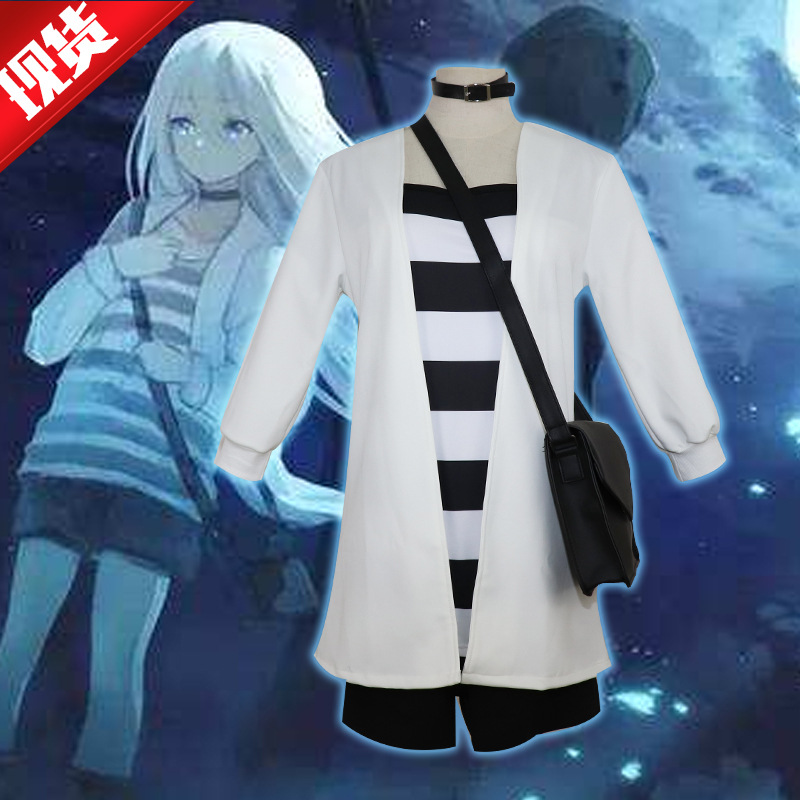 Angels Of Death Rachel Gardner Cosplay Costumes Rachel Gardner Daily Full Jacket +T-shirt+ Shorts  Japanese Kimono Ray Backpack
