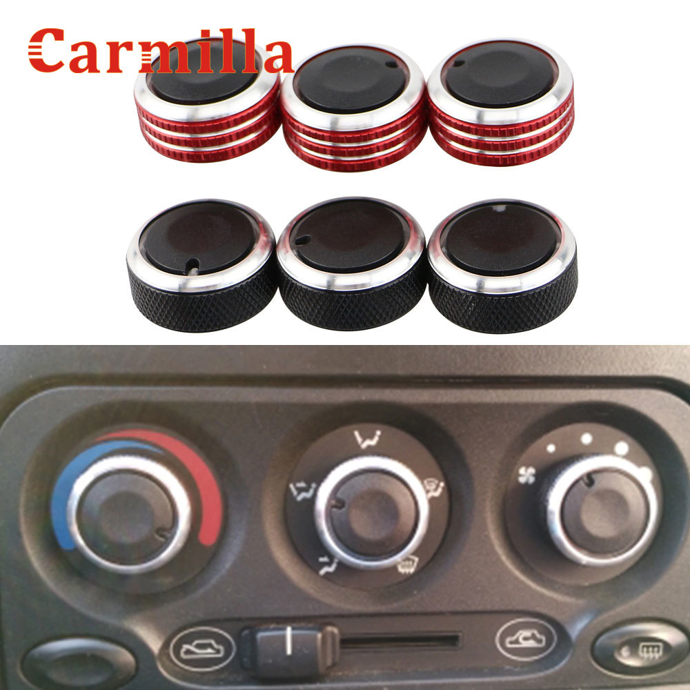 Carmilla Air Conditioning Heat Control Switch Knobs For Daewoo Matiz Chevrolet Joy Exclusive 98 Interior Car Styling Accessory