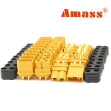 Amass 10 пар XT60 XT60HBullet Разъемы штекер разъем питания RC LV Lipo батарея двигатель 3D принтер