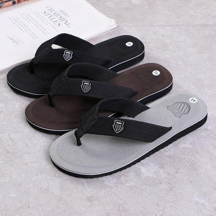 Men Summer Flip Flops Beach Sandals Anti-slip Casual Flat Shoes High Quality Slippers Zapatos Chanclas De Hombre Chaussure Homme 3