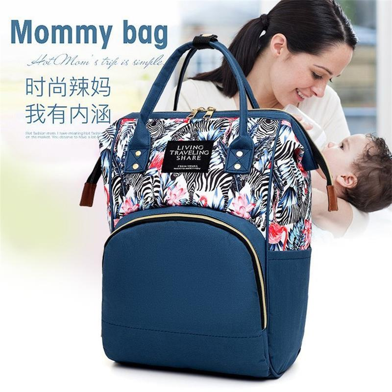 Waterproof Baby Changing Bag Luxury Mummy Nappy Bag Diaper Shoulder Tote