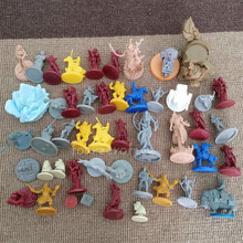 46pcs Monsters Knights Heroes Miniatures  Wars Board Games Role Playing Figures PVC Toys Collection lot 19pcs knights warriors heroes miniatures undergound city board games model wars game role playing figures toys collection