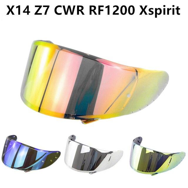 Motorcycle Helmet Visor for X14 Z7 CWR RF1200 Xspirit Full Face X14 Helmet Visor Casco Moto Windshield Capacete Accessories