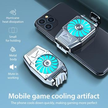 H15 Universal Portable Cooling Fan for PUBG Mobile Games Mute Cooler Radiator for iPhone for Huawei for Smartphone Fast Cooling
