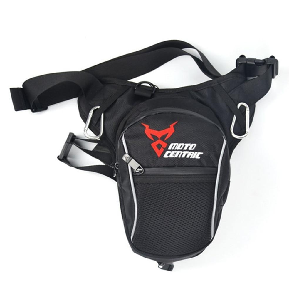 Waterproof Leg Bag Casual Waist Pack Crossbody Adjustable Strap Pouch Scratch Resistant Motorbike Cycling Storage Elastic Zipper
