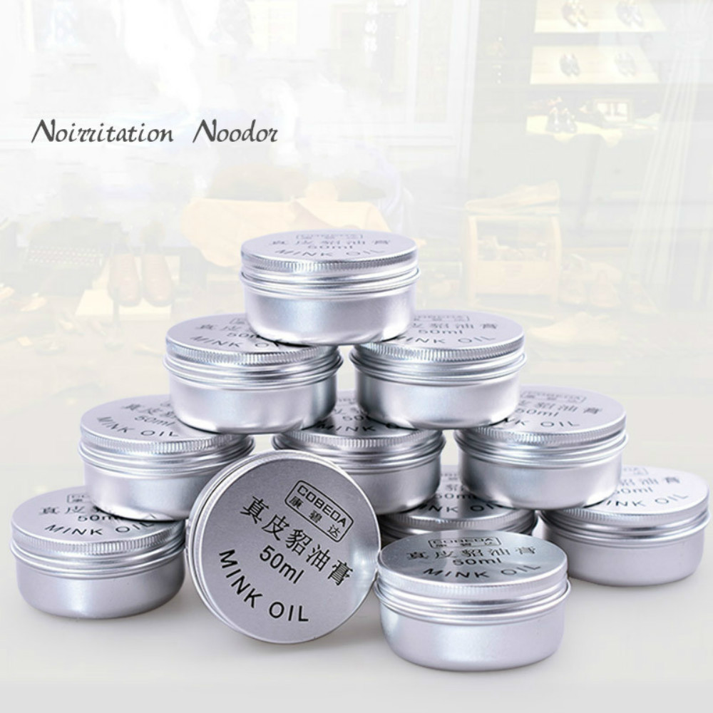 New Oyster Cream Yellow Wolf Cream Leather Goods Leather Shoes Care Cream Shoe Polish Leathercraft Accessories