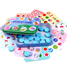 Puzzles Games Memory game chess toy Wooden Children Desktop Interactive Box Educational Toys Gift For Kids 1-3 year  blue,pink shark bite game funny toys desktop fishing toys kids family interactive toys board game