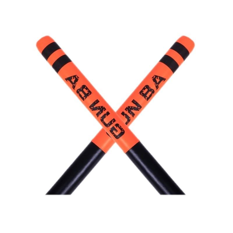 2PCS Combat Martial Arts Foam Stick Short Stick Boxing Reaction Rod Stick Target