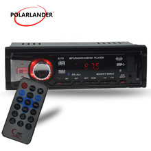 Nieuwe Auto Radio Stereo Speler Ondersteuning Bluetooth Telefoon AUX-IN MP3 Fm/Usb/1 Din/Afstandsbediening Voor 12V / 24V Car Audio Auto Radio(China)