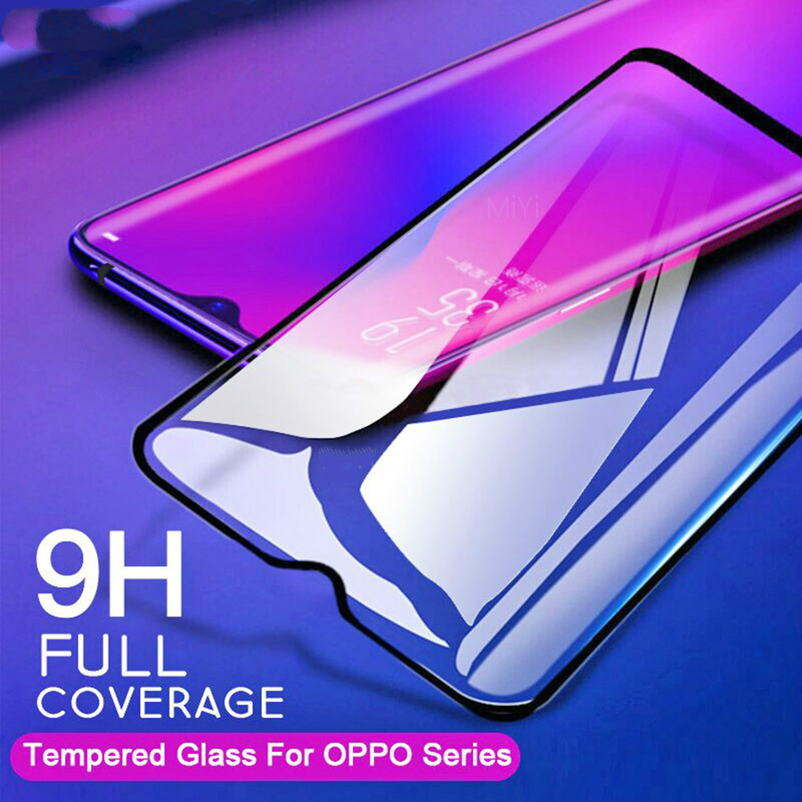 2 PCS Tempered Glass For OPPO Realme 5 3 Pro Realme XT Q C2 Sceen Protector Anti-Scratch 2.5D Explosion Proof Glass Film