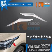 Автомобильный Стайлинг хром для toyota raize a200a/210a из нержавеющей