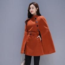Весна/осенние женские пальто шерсть и куртки из смешанной ткани Хепберн стиль накидки модная верхняя одежда пальто женские куртки