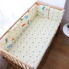 Get more info on the Baby Crib Bumper For Newborns Thick Soft Kids Bed Bumper Children Room Decoration Baby Cot Protector For Infant 30x30x6Pcs Set