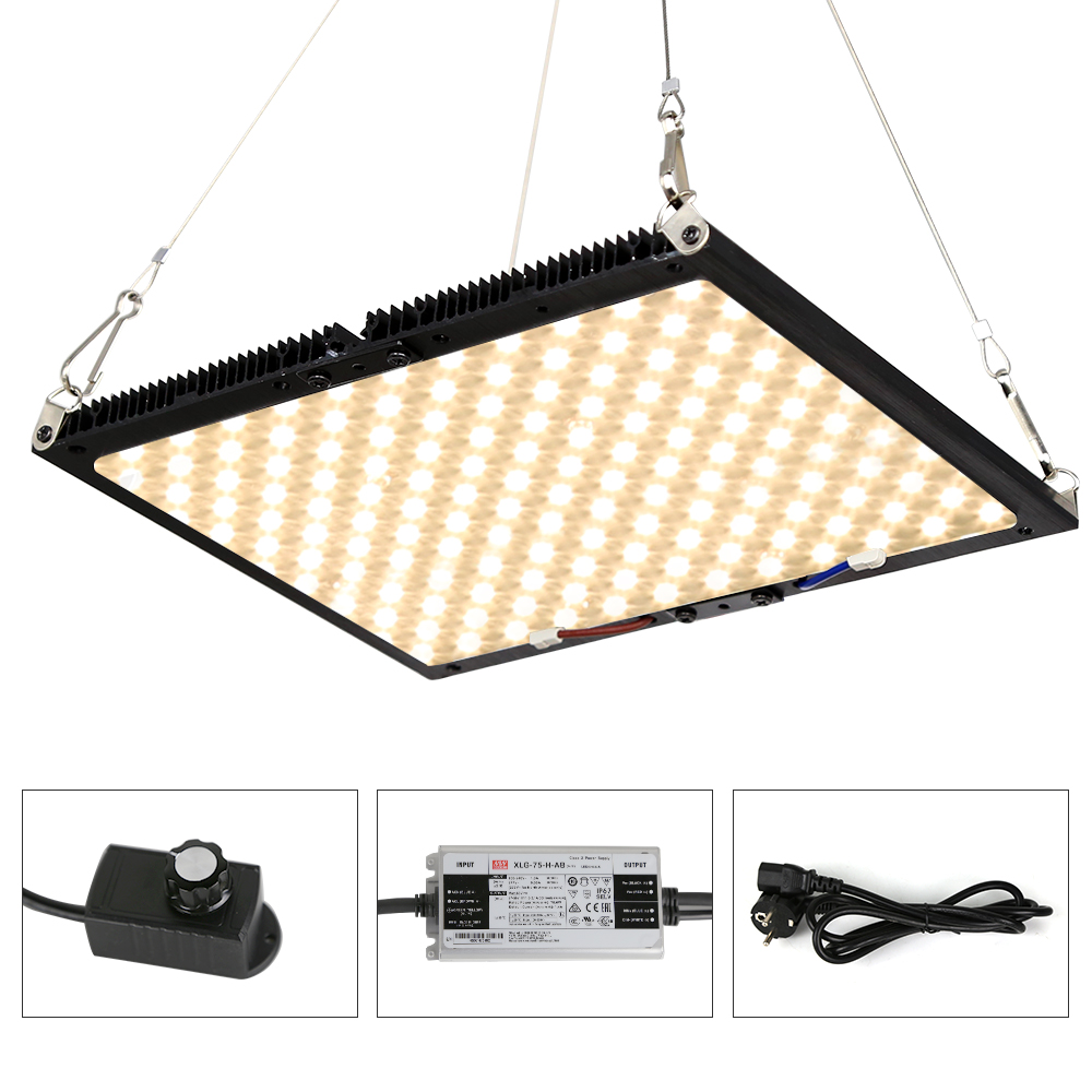 Dimmable Quantum <font><b>Board</b></font> LED Grow Light Full Spectrum <font><b>SAMSUNG</b></font> <font><b>LM301B</b></font> 140W Plant Growing Lamp For Indoor Greenhouse Plants Growth image