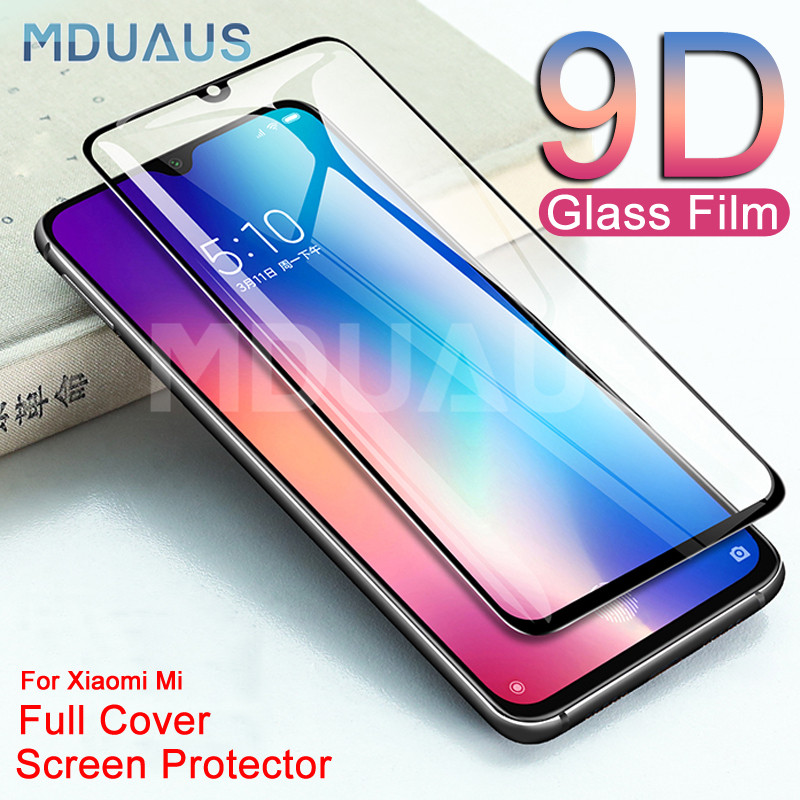 9D Protective Glass For Xiaomi Mi 9 8 SE A3 A2 Lite Screen Protector For Xiaomi Mi CC9 CC9E Play F1 Tempered Glass Film Case