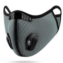 Mascarilla transpirable Unisex para ciclismo, máscara a prueba de polvo y viento, protección contra la contaminación, boca, cosplay de Halloween