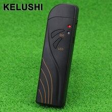 KELUSHI 광섬유 케이블 테스터 미니 적색 광원 5mW/15mW/20mW/30mW 시각 장애 탐지기 케이블 오류 파인더 VFL LED 포함