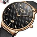 2020 LIGE новые спортивные часы Мужские Аналоговые кварцевые наручные часы Топ Роскошные водонепроницаемые часы с датой деловые мужские часы ...