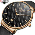 2020 LIGE nouveau Sport montres hommes analogique Quartz montre-bracelet haut de luxe étanche Date horloge hommes d'affaires montre Relogio Masculino