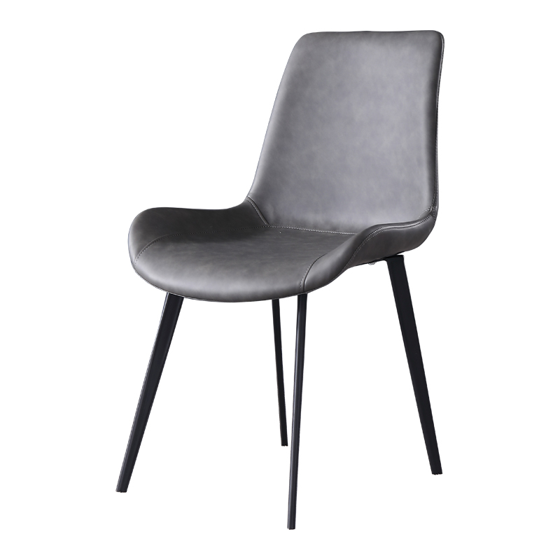 Nordic Dining Chair Modern Minimalist Backrest Soft Chair Creative Home Wrought Iron Designer Chair Stool