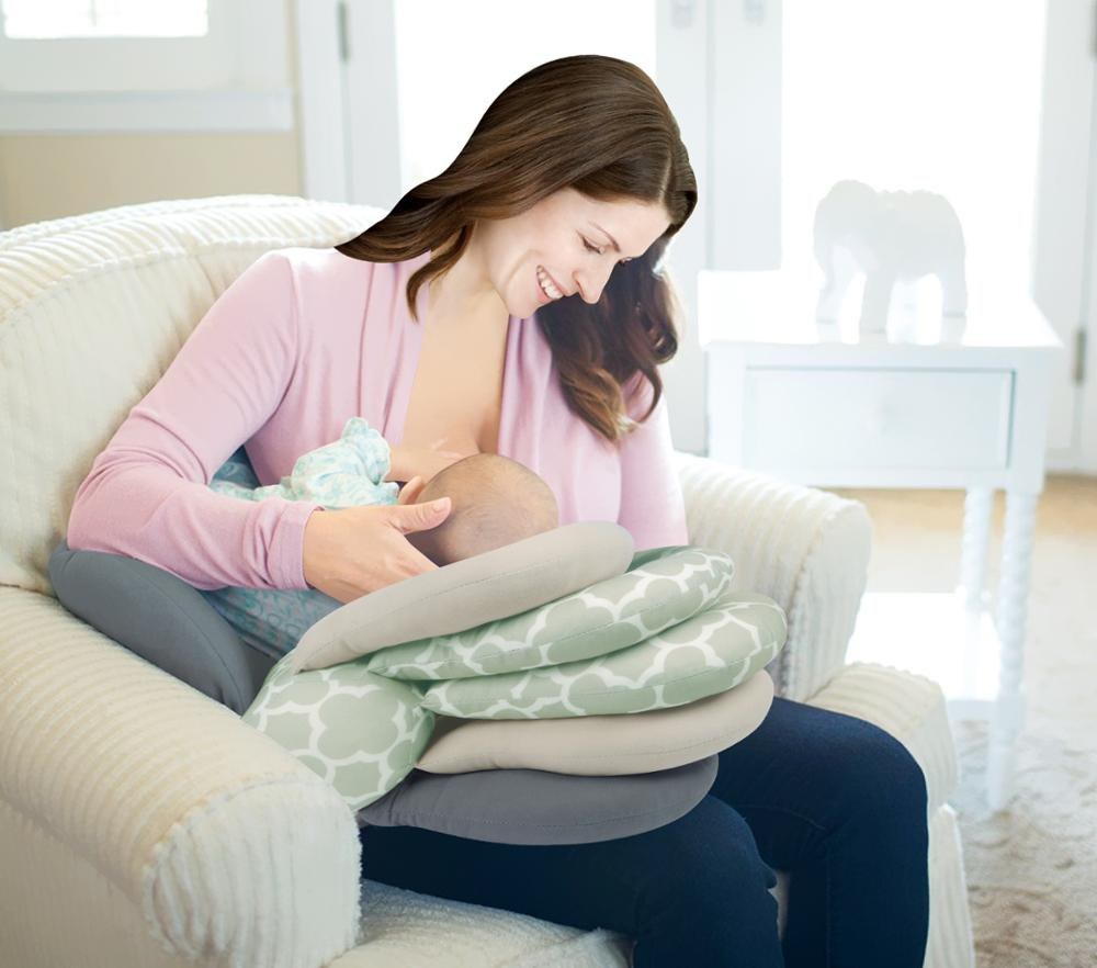 Nursing Pillows Baby Maternity Baby Breastfeeding Pillows Layered Adjustable Nursing Cushion Newborn Feeding Pillow For Nursing