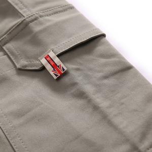 Image 4 - GXXH męskie szare spodnie joggery Streetwear ponadgabarytowe spodnie Cargo 2019 jesienne męskie duże kieszenie Ankel kombinezony luźne spodnie XXL 6XL