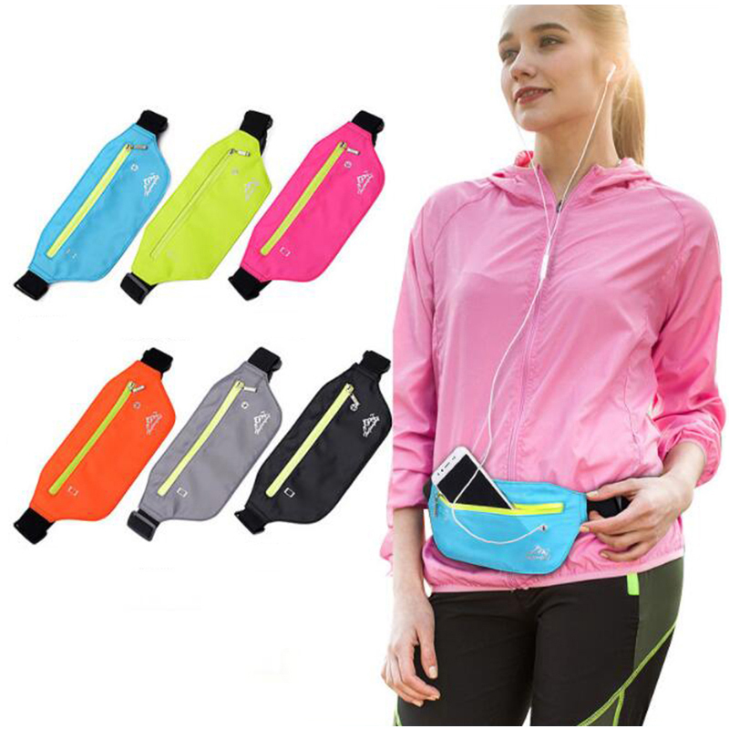 Waist Bag Belt For Men Women Fanny Pack Sport Running Waterproof Belt Banana Pouch Bananka Male Female Money Phone Waistbag