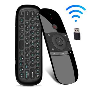 Миниатюрная Беспроводная клавиатура Air Mouse, ИК-пульт дистанционного управления для Android TV Box, компьютерный беспроводной пульт дистанционног...