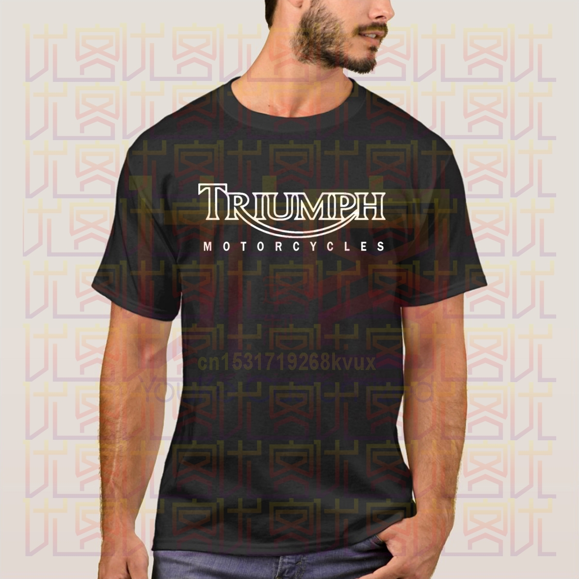 Free Shipping Triumph Motorcycles T-Shirt Blouse Shirt Men's Top Tees New Brand Tshirt Men Summer Style Top Tees
