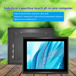 10 12 15 17 inch Industrial PC waterproof, dustproof, fanless cooling all in one PC whit Capacitive Touch 4G RAM, 250G SSD, wifi