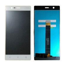 """N3 מסך עבור Nokia 3 תצוגת LCD ומסך מגע Digitizer עצרת 5.0 """"LCD עבור נוקיה N3 תצוגת TA 1020"""