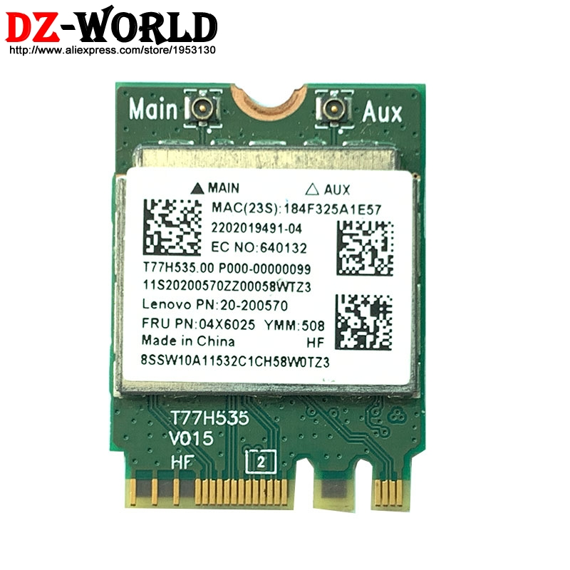 RTL8723BE Wireless wifi+BT 4.0 NGFF M.2 Card for <font><b>lenovo</b></font> Y50-<font><b>70</b></font> Y40-80 305-15ABM <font><b>G70</b></font>-35 100S-14IBR Laptop 20200570 image