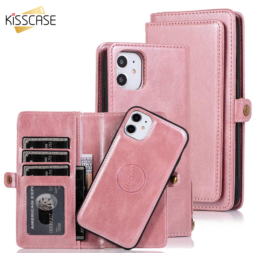 Wallet Case For iPhone 11 Pro XS MAX XR X 7 8 6 Plus Case Leather Case For Samsung Galaxy A50 A70 S8 S9 S10 Plus Note10Plus Case