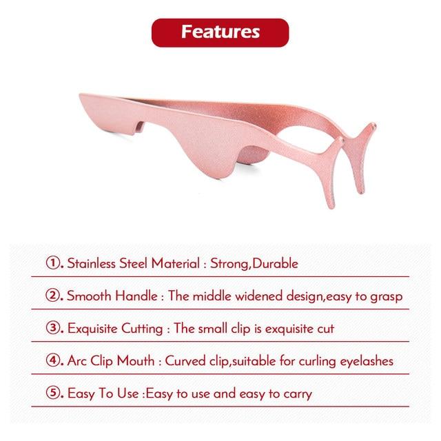 New 3 Pairs/set 3D Magnetic Fake Eyelashes Extension Natural Reusable Magnet False Eyelashes kits with Magnetic Eyeliner tweezer 4