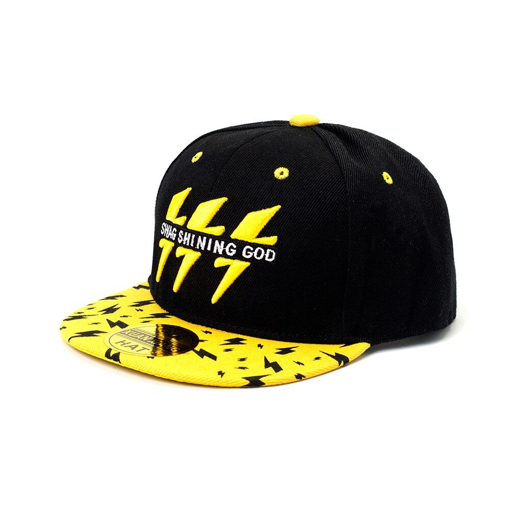 Baby Boys Girls Baseball Cap Adjustable Spring Autumn Kids Sun Hat  Geometric Lightning Pattern Children Hip Hop Dance Caps