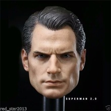 Collectible 1/6 Scale BVS Superman Henry Cavill Head sculpt For 12