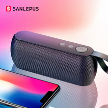 SANLEPUS HIFI נייד אלחוטי Bluetooth רמקול סטריאו Soundbar TF FM רדיו מוסיקה סאב טור רמקולים למחשב טלפון