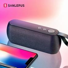 SANLEPUS HIFI Portable sans fil Bluetooth haut parleur stéréo barre de son TF FM Radio musique Subwoofer colonne haut parleurs pour téléphone dordinateur