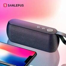SANLEPUS HIFI Portable wireless Bluetooth Speaker Stereo Soundbar TF FM Radio Music Subwoofer Column Speakers for Computer Phone