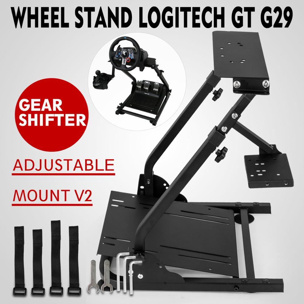 عجلة القيادة الوقوف ل Logitech G29 سباق عجلة PS4 والكمبيوتر برو V2