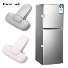 1 шт. домашний замок холодильника морозильник для холодильника замок для двери Младенцы, малыши, дети замок безопасности шкафа для безопасн...